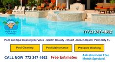 Pool Cleaning Service Palm City - Find The Best Pool Cleaners Pool Maint...