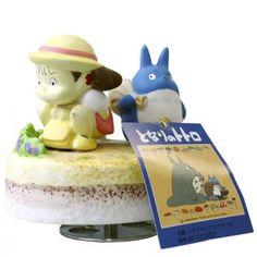 Studio Ghibli My Neighbor Totoro Ceramic Music Box (May Met Totoro 1)