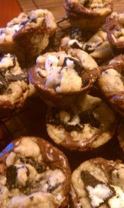 Baking with Melissa: Desserts you can make in a mini muffin pan! #baking #recipes