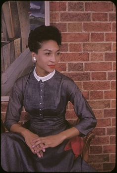 Ladybird Cleveland, an artist and the mother of legendary model Pat Cleveland. Photo by Carl Van Vechten.
