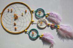 KInderzimmertraum in bunt- Helle Farben mit Amber von TRAUMnetz.com     ** DReamcatcher u.v.m.  ** auf DaWanda.com