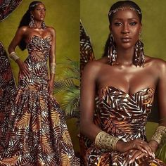 Modern African Print fashion dresses for women Latest Ankara statement fashion dresses for women Stylish and colourful African Print chinos to inspire your next street-style outfits by some of Cameroon's coolest fashionistas. African Fashion Ankara, African Inspired Fashion, African Print Fashion, Fashion Prints, African Print Clothing, Africa Fashion, Ghana Fashion, African Attire, African Wear