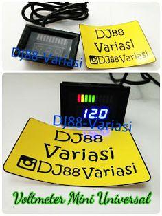 UNIK voltmeter mini universal cek aki model RPM vario 125 nmax cb150 cbr 150 scoopy xride aerox vixion nvl jupiter mx xeon bukan koso