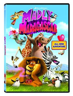 Madly Madagascar DVD Giveaway ends 2/13