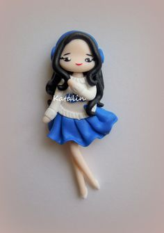 Entirely handmade with polymer clay (FIMO). By Katalin Handmade (2013)