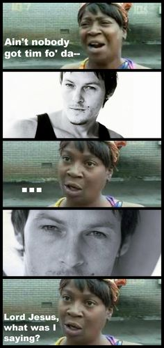 Everyone has time for some Norman Reedus
