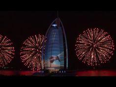 Burj Al Arab Celebrates the UAE's 43rd National Day - Official Video - YouTube