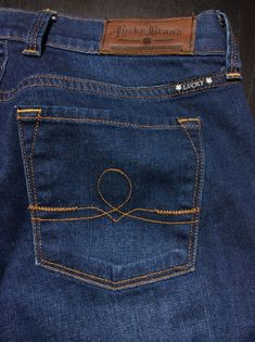 LUCKY BRAND Women's 6/28 Indigo Wash Sofia Boot Cut Stretch Low-Rise Denim Jeans | Shop at designerclothingfans.com