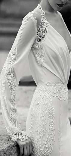 Lace detail (with lining, this is oh so lovely).