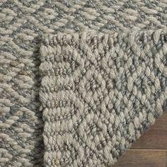 Safavieh Hand-Woven Natural Fiber Grey Jute Rug (8' x 10')