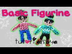 TutorialsByA's Signature/Basic Figurine Rainbow Loom Tutorial