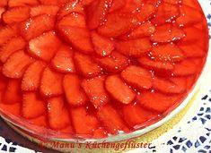Manus Küchengeflüster: Erdbeerkuchen mit Vanillecreme