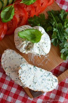Serek almette Yogurt Recipes, Lunch Recipes, Cake Recipes, Happy Foods, Diy Food, Chutney, Good Food, Food And Drink, Cheese