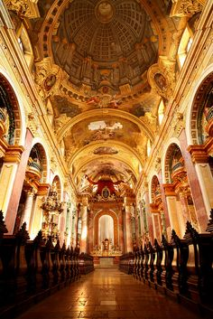 Jesuitenkirche Wien - Church of the Jesuits, Vienna by tobias142 on Flickr.