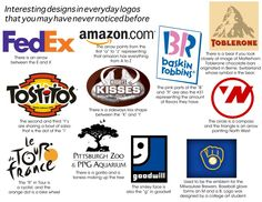 interesting designs in everyday logos that you may have never noticed!