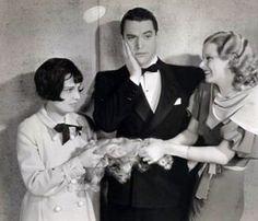 Anita Loos, Chester Morris and Jean Harlow