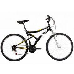 [Clube do Ricardão] Bicicleta Aro 26 Caloi Andes 21 Marchas Preto Fosco R$ 479,90 em 10x
