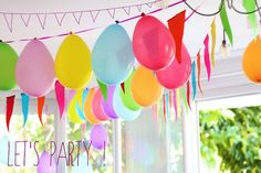 Un anniversaire sur le thème de la fête foraine