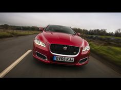 2016 Jaguar XJ and XJR - Featuring a new, more progressive look, the exterior of the 2016 XJ incorporates an updated front fascia that includes a larger, mor...