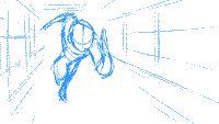 animated balak fighting web western yves_bigerel