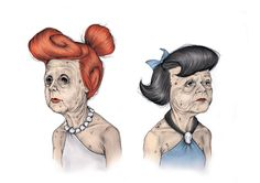 Wilma and Betty by Matthias Seifarth