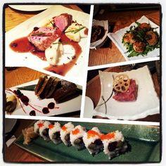 Tolles Thunfisch Tatar, ansonsten leider enttäuschend: Sushi Reis zu kalt, Thunfisch Tataki trocken, Ente latent zäh und die Dorayaki schmeckten nach gar nichts. SchickiMicki Japaner mit übertrieben freundlichem Service. Bekommt keine zweite Chance von mir (at Emiko Restaurant & Bar)