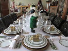 The Welcomed Guest: International Christmas Table