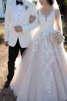 71 Elegant White Wedding Dresses The wedding dress is filled with delicately feminine details. Which is irresistibly romantic bridal collection features elegant wedding dresses. Click the picture to see more beautiful dresses. Spaghetti Strap Wedding Dress, Wedding Dresses With Straps, Wedding Dresses 2018, Elegant Wedding Dress, Perfect Wedding Dress, White Wedding Dresses, Bridal Dresses, Spaghetti Straps, Lace Wedding Dress Ballgown