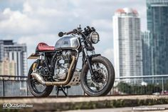 Royal Enfield Continental GT's Style Cafe Racer