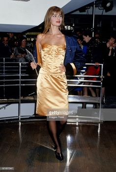 Paulina Porizkova attends the Celebrity Fashion Show Benefiting AIDS Patients of St. Get premium, high resolution news photos at Getty Images Paulina Porizkova, Strapless Dress Formal, Formal Dresses, Spring Fever, Stunningly Beautiful, Muse, Beautiful People, Celebrity Style, Fashion Show