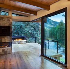 Image result for small modern mountain houses