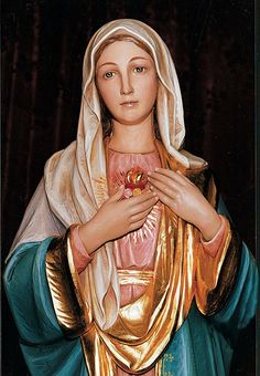 Immaculate Heart of Mary, pray for us now and at the hour of our death.