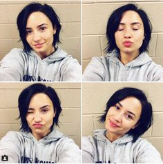 Ever try the #nomakeupmonday trend? Check out what one #Instagram follower had to say to #DemiLovato about the trend she inspired. #iwokeuplikethis #feminism | www.platosclosetbarrhaven.com