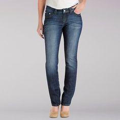 Lee Women's Platinum Slender Secret Josie Straight::10:L Jeans