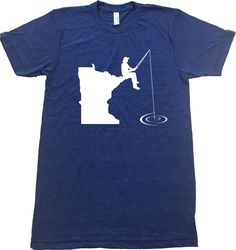 Minnesota Fishing T-Shirt