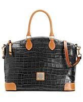 Dooney & Bourke Handbag, Croco Satchel