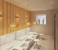 Kameralny salon kosmetyczny - Finchstudio • Projektowanie i aranżacja wnętrz • Wrocław