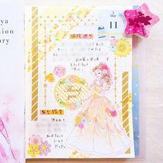 5/11の日記 病院巡りをして、そのまま舞台を観に行ったハードな日 * 日記デコはベル ダイソーのお花シールは淡い色合いや透け感がお気に入りで、リピ買いして使ってます * #日記 ... Journal Design, Journal Layout, Japanese Handwriting, Zen Doodle, Hobonichi, Journal Inspiration, Bujo, Planners, Journals