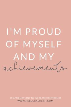 31 affirmations for enforcing positive thinking and self empowerment. This list of empowering affirmations will boost self confidence. Daily affirmations for positive thinking and self empowerment. Confidence affirmations for women, which reduce anxiet Affirmations For Women, Self Love Affirmations, Money Affirmations, Affirmations Confidence, Positive Affirmations For Anxiety, Prosperity Affirmations, Self Love Quotes, New Quotes, Life Quotes