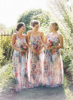Fun and totally different -- multicolor dresses!