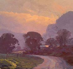 Painting by Warwick Fuller Australian Artist.(850×811)