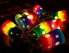 Polymer clay lights