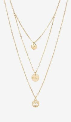 Stephan & Co | Multi Chain Spirit Necklace