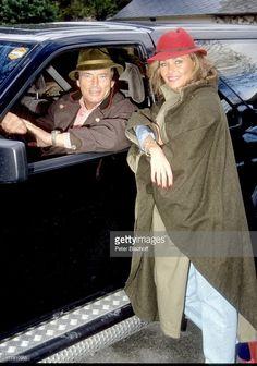 Pierre Brice, Ehefrau Hella, Homestory, Landhaus, Orleans, bei Paris, Frankreich, Europa, Auto, Schauspieler, Prod.-Nr.: 197/1990,