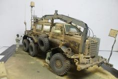 MPCV Buffalo*That was it*Diorama fertig 1:35