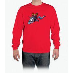 Jetpack Unicorn Long Sleeve T-Shirt