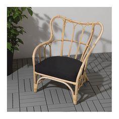 IKEA MASTHOLMEN armchair, outdoor Handmade by a skilled craftsman.