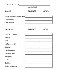 Bi Weekly Family Budget Worksheet Template , 9 Bi Weekly Budget Template , What Makes Bi Weekly Budget Template Beneficial for Us in Our Life Have you been having trouble about managing budget yourself?