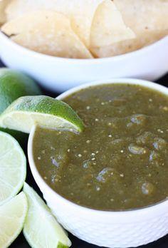 Homemade Green Salsa