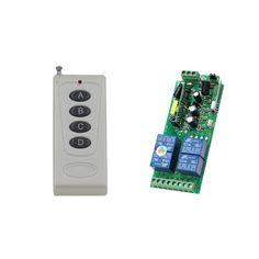 Hot 1000W AC85V 110V 220V 250V 4CH Wide Voltage Relay Receiver Wireless Remote Control Switch  Transmitter For Intelligent Home #Affiliate